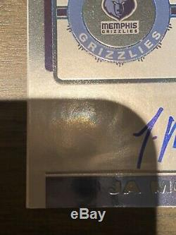 2019-20 Contenders Playoff Ticket Ja Morant Grizzlies RC Rookie AUTO /99 RARE