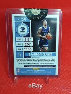 2019-20 Panini Contenders Brandon Clarke Rookie Playoff Ticket Auto 98/99 Nba Rc