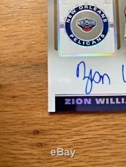 2019-20 Panini Contenders Playoff Ticket Zion Williamson Rookie Auto /75! RC SP