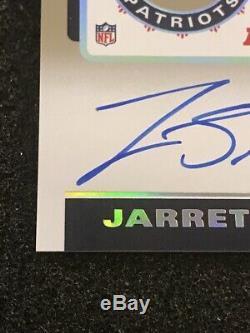 2019 Contenders JARRETT STIDHAM Auto Playoff Ticket Autograph RPS Variation /49