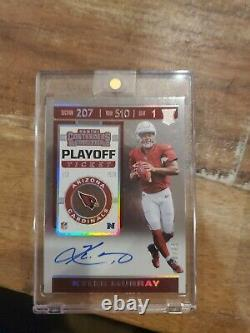 2019 Contenders Kyler Murray Playoff Ticket Rookie Auto #18 25 Cardinals RC Q9