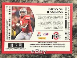 2019 Panini Contenders Dwayne Haskins Playoff Ticket RC Auto Autograph /18