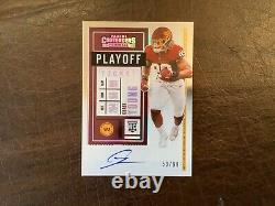 2020 Panini Contenders Chase Young Playoff Ticket Auto