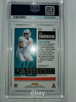 2020 Panini Playoff TUA TAGOVAILOA Contenders Preview GREEN ROOKIE TICKET 08/10