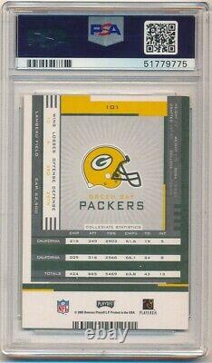 Aaron Rodgers 2005 Playoff Contenders Rookie Autograph Packers Auto Psa 9 Mint