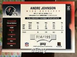 Andre Johnson 2003 Playoff Contenders Rookie Ticket AUTO Autograph rookie