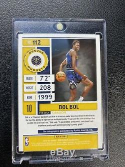 BOL BOL 2019-20 Panini Contenders Playoff Ticket Rookie RC Auto Autograph #93/99