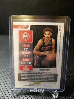 Basketball Card 2018-19 Contenders Trae Young Rookie Auto Playoffs Variation /35