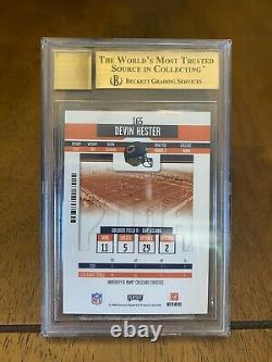 Devin Hester 2006 Playoff Contenders Rookie Ticket Auto Autograph BGS 9.5