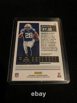 JONATHAN TAYLOR 2020 Panini Playoff #4/23 RPS AUTO CONTENDERS ROOKIE TICKET