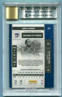 James Harden 2009 Playoff Contenders Rookie RC BGS 8.5 NM-MT+