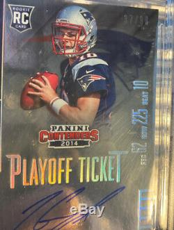 Jimmy Garoppolo 2014 BGS 9.5/10 Contenders Rookie Playoff Ticket Auto RC /99