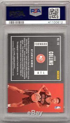 John Collins 2017-18 Contenders Playoff Ticket ROOKIE AUTO #13/35 PSA 9 MINT