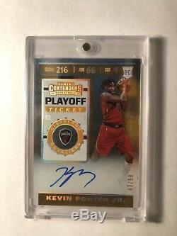 Kevin Porter Jr. 2019-20 Panini Contenders Playoff Ticket Auto Rookie #/99