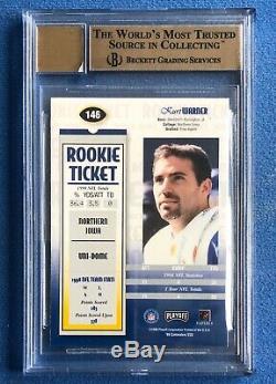 Kurt Warner, Auto Rc 1999 Playoff Contenders Ssd, Rookie Ticket Bgs 9.5/10 Gem