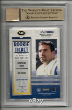 Kurt Warner Auto Rc 1999 Playoff Contenders Ssd Rookie Ticket Bgs 9.5 10 Gemmint