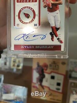 Kyler Murray 2019 Contenders Autograph Playoff Ticket #/25 On Card Auto! Oroy