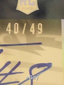 Lamar Jackson Panini Contenders Playoff Ticket Autograph /49 RC BGS 9