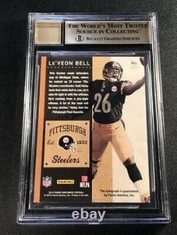 Le'veon Bell 2013 Contenders #221a Playoff Ticket /99 Auto Rookie Rc Bgs 9.5 10