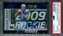 Matthew Stafford 2009 Playoff Contenders PSA 10 Autograph Auto #/ 540 made RC