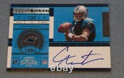 Nice Cam Newton Playoff Contenders 2011 Rookie Ticket Autographed Auto #228