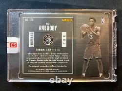 OG Anunoby 2017 Contenders Rookie Playoff Autograph #10/35 Toronto Raptors Auto