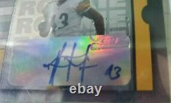 Troy Polamalu 2003 Playoff Contenders Steelers Rookie Bgs 9 Auto 10