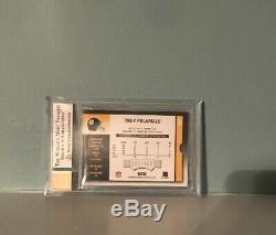Troy Polamalu Contenders Steelers Rookie RC auto Autograph /989 BGS 9